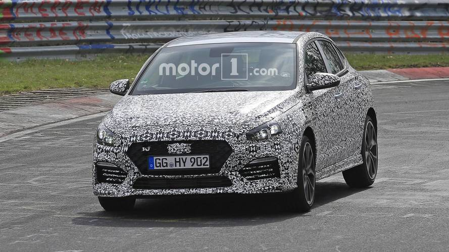 Hyundai i30 N Fastback - Photos espion sur le Nürburgring