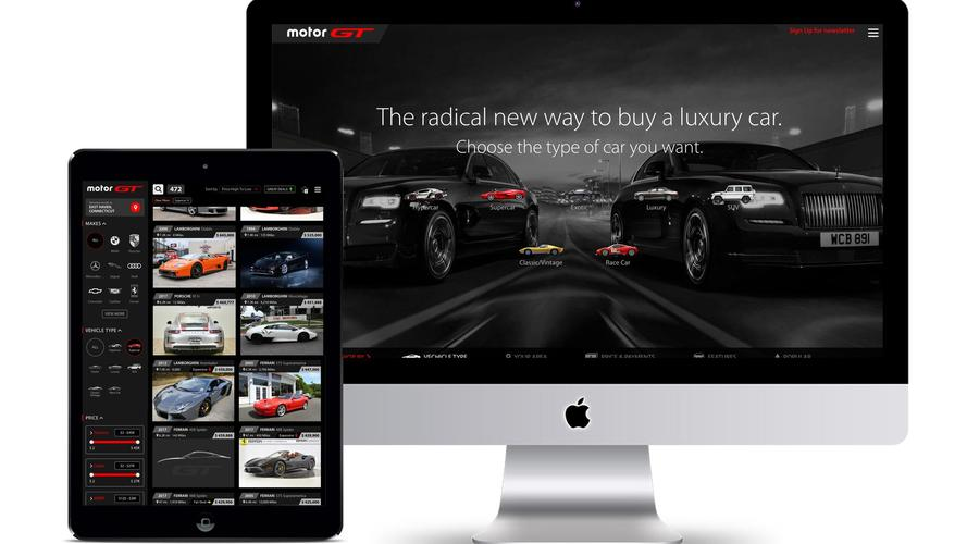Motorsport Network Brings Luxury Car Buying To The Digital Age With MotorGT.com