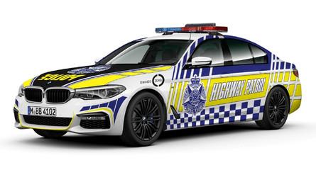 Avustralya Polisi bu sefer de 80 tane BMW 530d'ye kavuştu