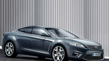 Ford Mondeo 4-door Coupe artist rendering