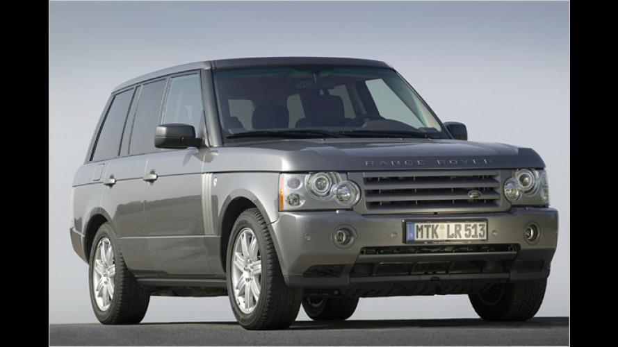 Endlich angemessen: Starker V8-Diesel für den Range Rover