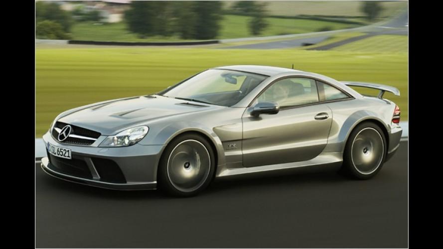 Black Series: Mehr Leistung für den Mercedes SL 65 AMG