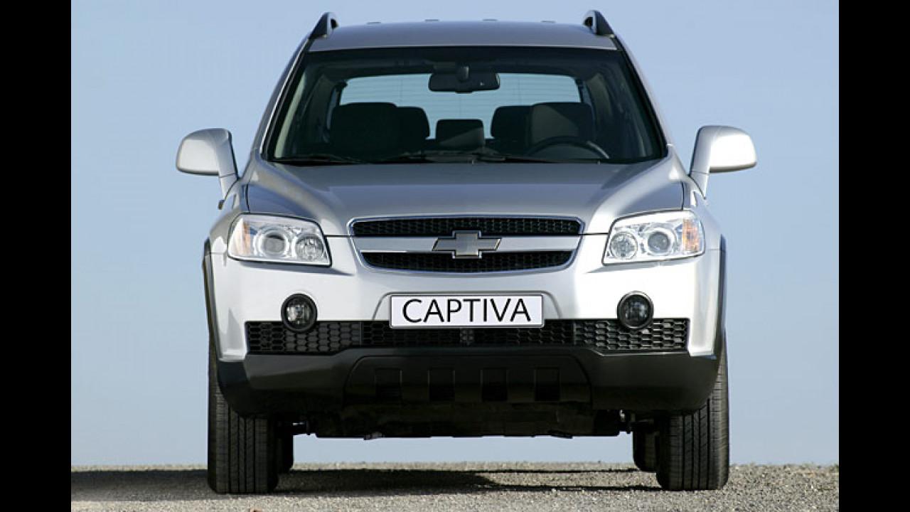 Neu: Chevrolet Captiva
