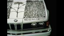 BMW 635 CSi Robert Rauschenberg Art Car