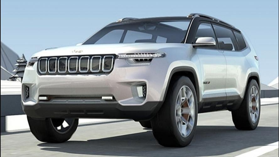 Jeep Yuntu concept, prime immagini del SUV per la Cina