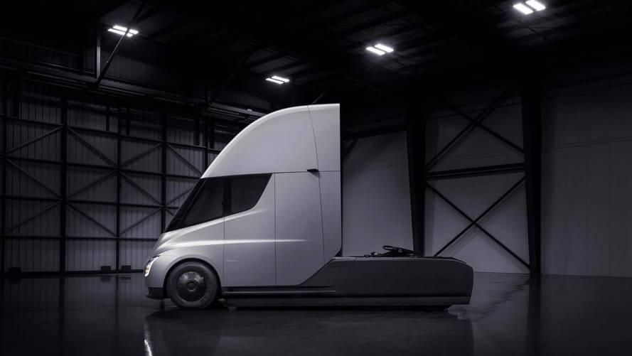 New Tesla Semi Sightings