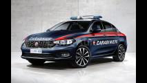 Nuova Fiat Tipo Carabinieri e Polizia, il rendering