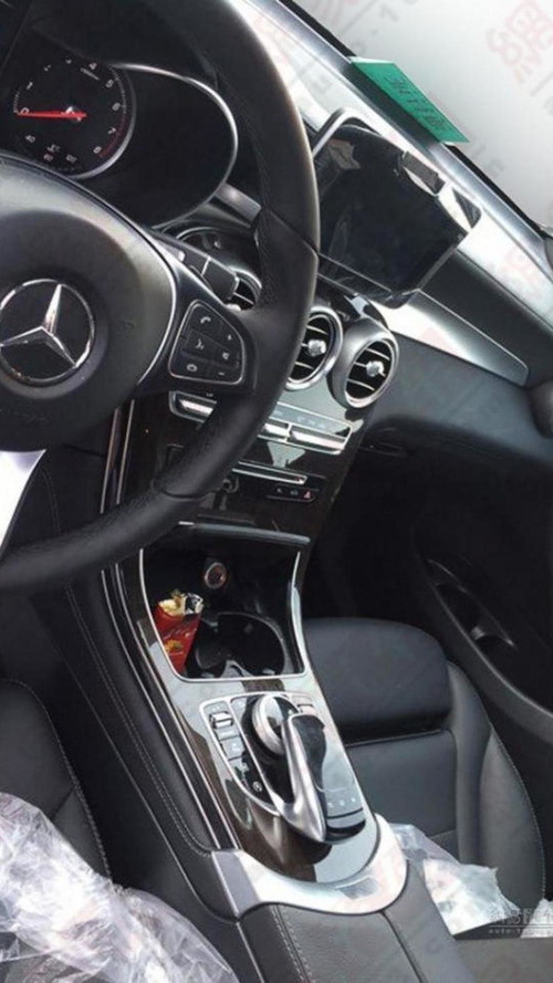 Mercedes GLC interior fully revealed in latest spy photos