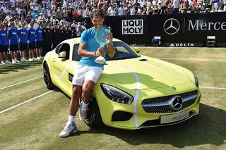 Rafael Nadal Says His Mercedes-AMG GT is Good, But Not Kia Good