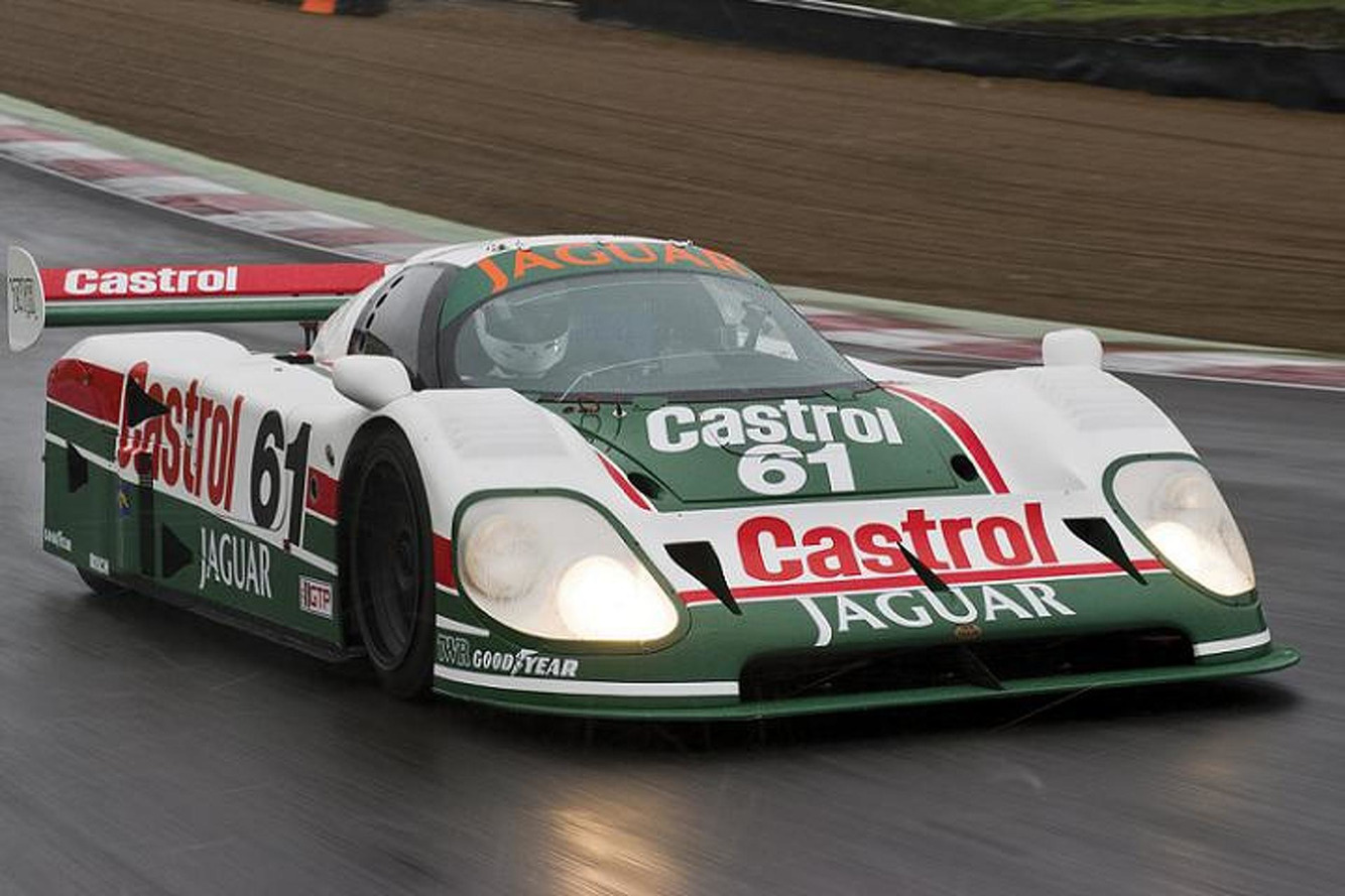 This Gorgeous Jaguar XJR-9 Racecar is Heading to Auction