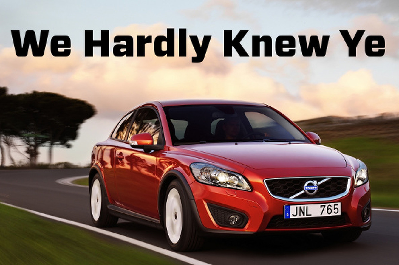 Volvo Killing C30: The Coolest Car It Ever Made