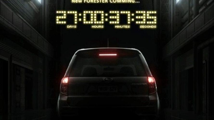 The Subaru Forester Countdown Has Begun...