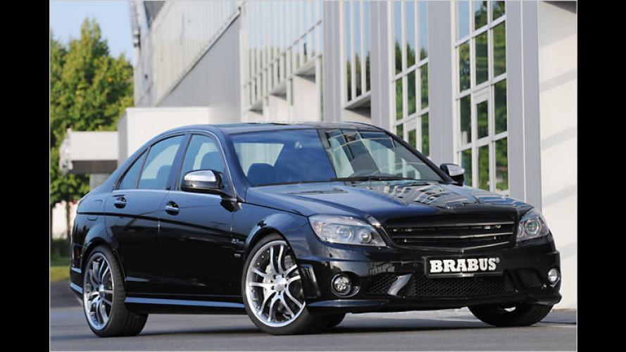 Brabus setzt noch eins drauf: Mercedes C 63 AMG mit 530 PS