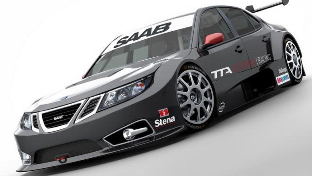 Saab 9-3 TTA Race Car 14.3.2012