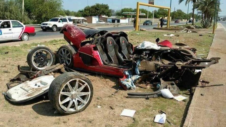 Koenigsegg CCX - Meksika Kaza