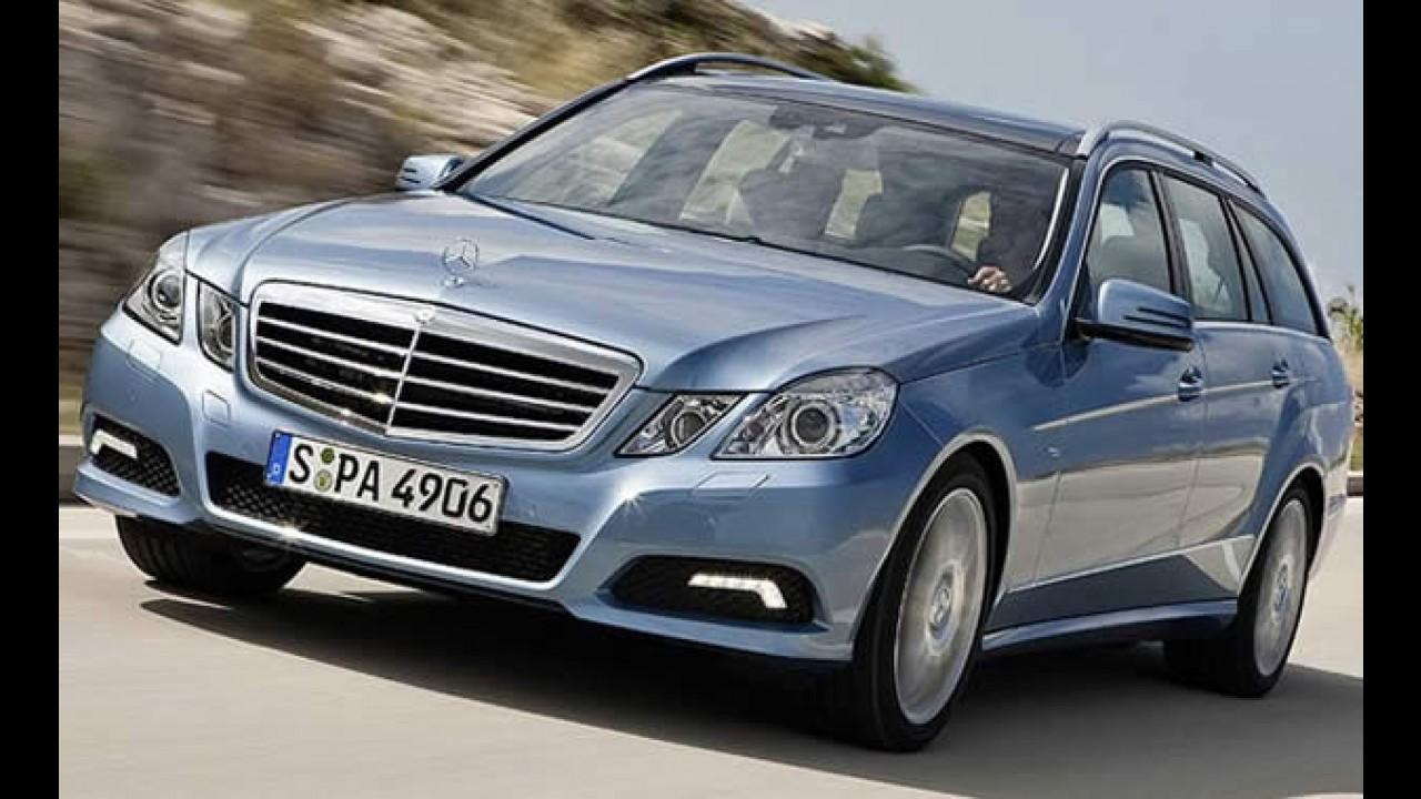Mercedes-Benz divulga imagens oficiais da nova Classe E Touring 2010 – Veja galeria de fotos