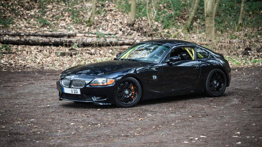 Custom BMW Z4 has the 550-hp heart of a Dodge Viper