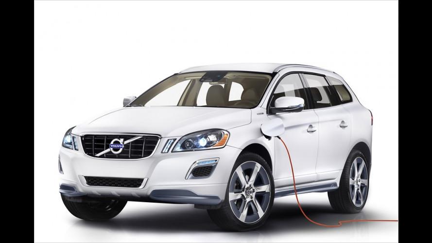 Volvo XC60 Plug-in-Hybrid Concept: Drei in einem