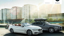 2014 BMW 4-series convertible official images leaked