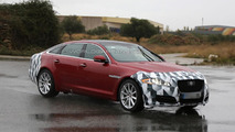 2015 Jaguar XJ facelift spy photo 19.11.2013