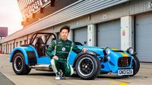 Kamui Kobayashi & Caterham Seven 620 R