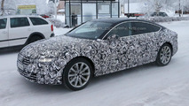 Facelifted Audi A7 spied once more