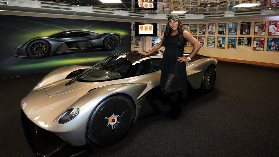 Aston Martin Valkyrie Now Has Real Headlights, A Famous Friend