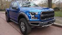 Ford F-150 Raptor on sale in UK