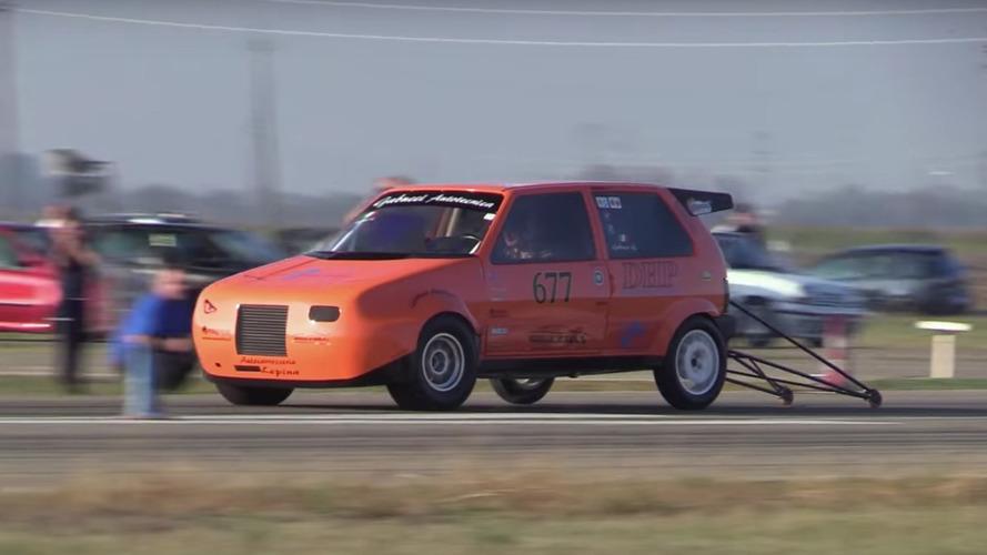 Avez-vous déjà vu ? Une Fiat Uno de 600 chevaux