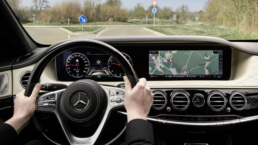 2018 Mercedes S-Class Interior Indirectly Revealed