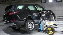Land Rover Discovery Euro NCAP test
