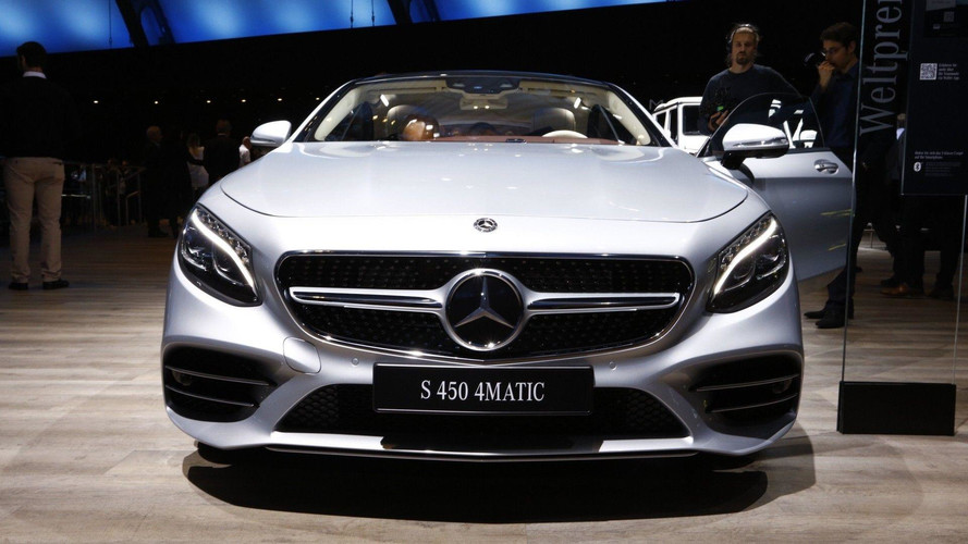 Mercedes Reveals 2018 Upgrades For S-Class Coupe And Cabriolet