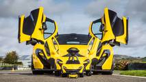 McLaren P1 Foot-to-Floor Edition