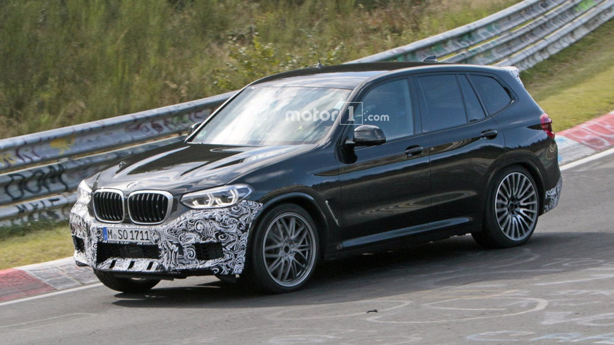 2019 BMW X3 M Caught By The Spy Camera At The Nurburgring