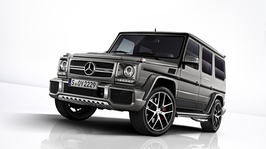 Exkluzív kiadású Mercedes-AMG G63 és G65 is érkezik a Frankfurt Motor Show-ra