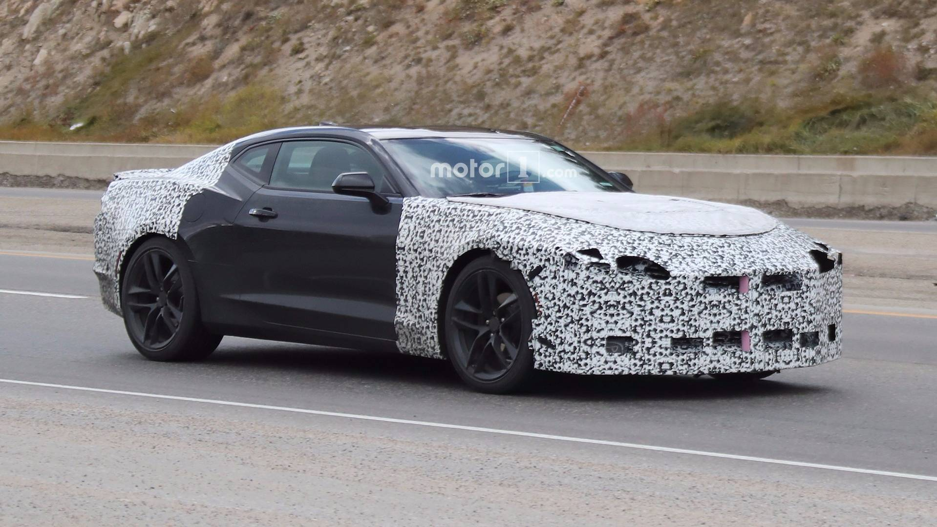 2019 Chevy Camaro Spied Shedding Some Camo