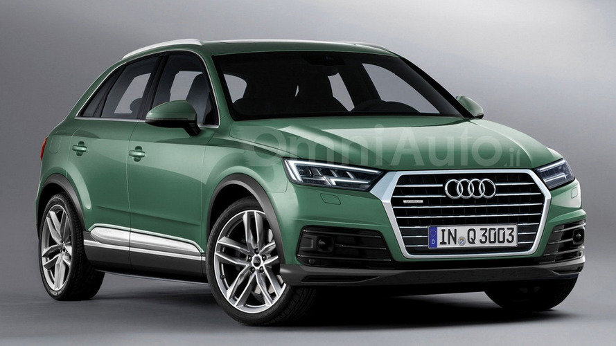 2018 Audi Q3 render points towards predictable design evolution