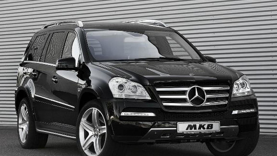 Mercedes GL gets a V12 engine transplant by MKB