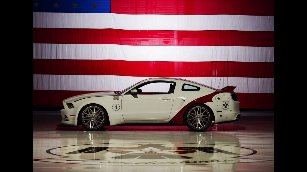 Ford Mustang GT homenageia Força Aérea dos EUA