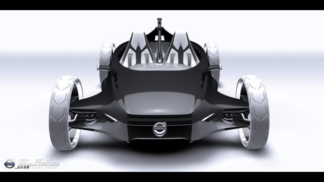 Volvo apresenta o Air Motion, um conceito movido a ar comprimido no Salão de Los Angeles