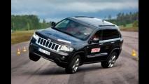 Jeep Grand Cherokee quase capota em Teste do Alce e gera polêmica