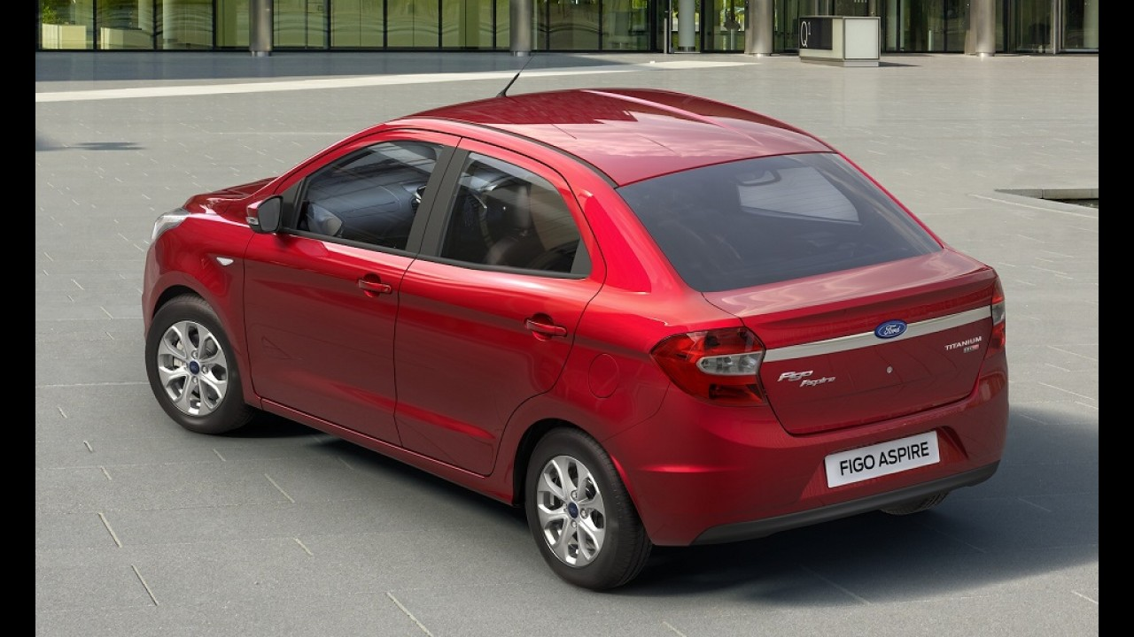 Ford Figo Aspire estreia na Índia como versão local e exclusiva do Ka+