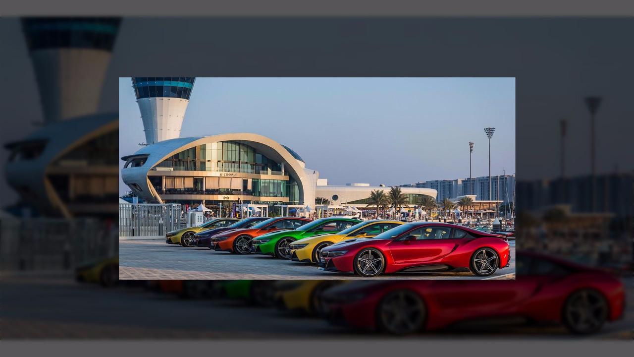 BMW i8 - Abu Dhabi Motors customs