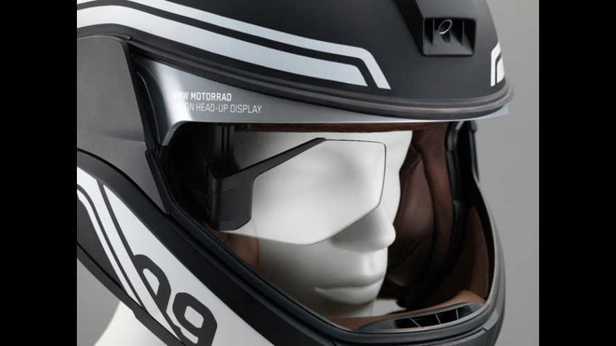 CES 2016: BMW apresenta capacete com head-up display para motos