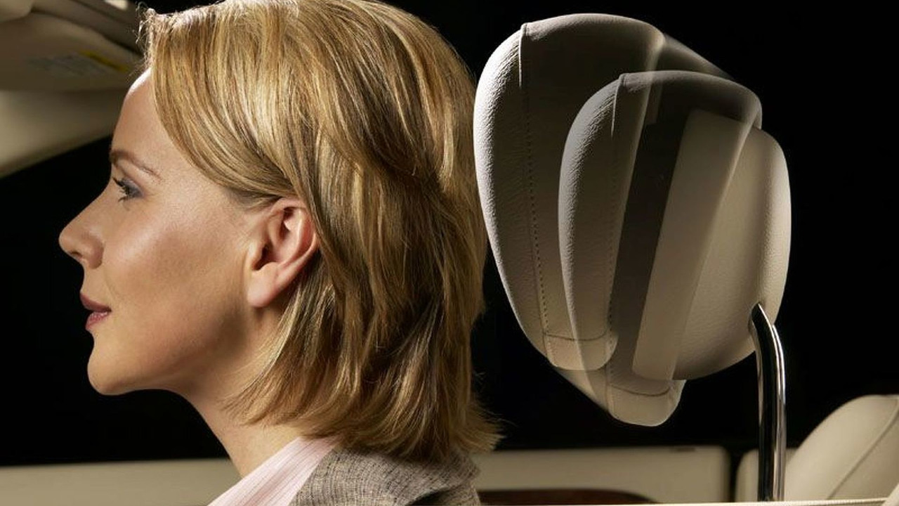 Mercedes NECK-PRO crash-responsive head restraints
