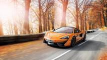 McLaren Pirelli winter tyres