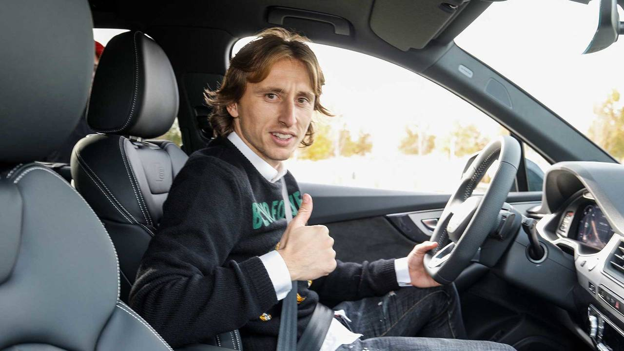 Luka Modric (#10) - Audi Q7
