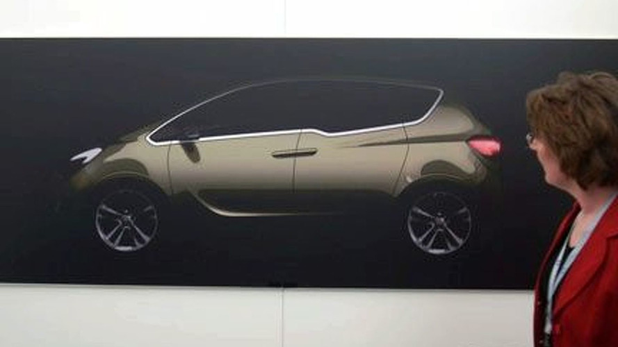 New Opel Meriva Concept Second Teaser