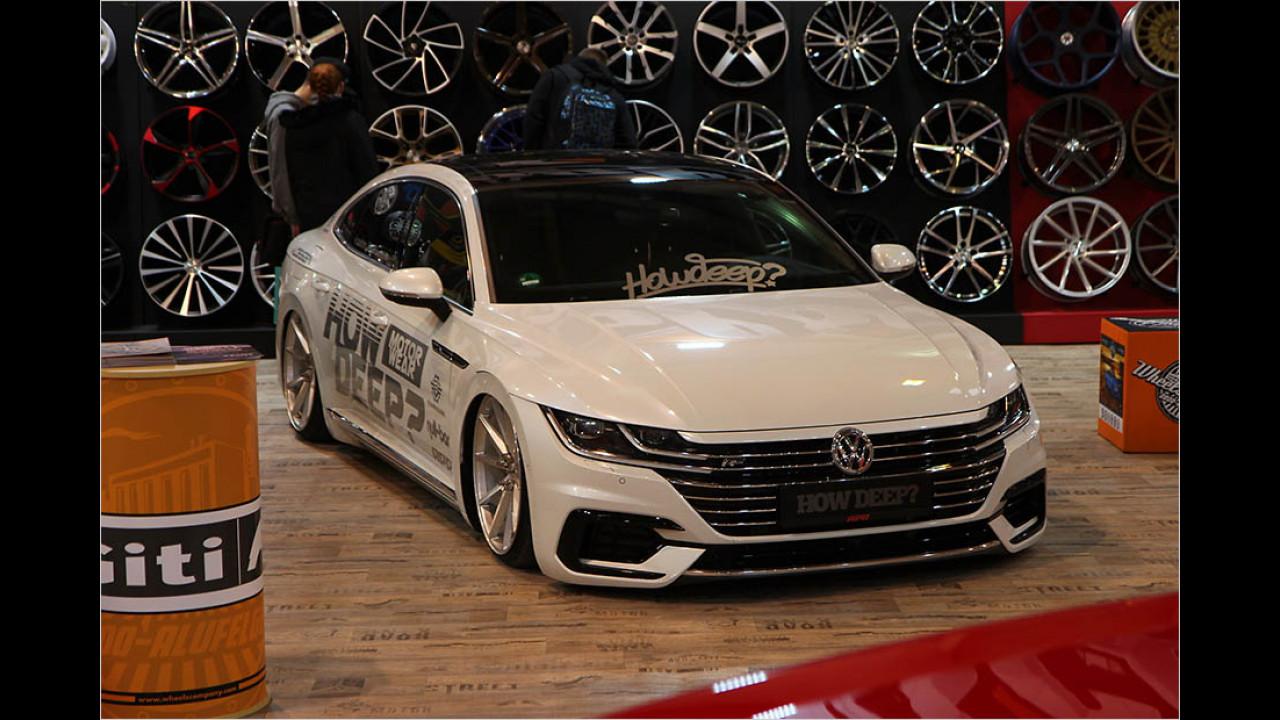 VW Arteon ,How Deep?