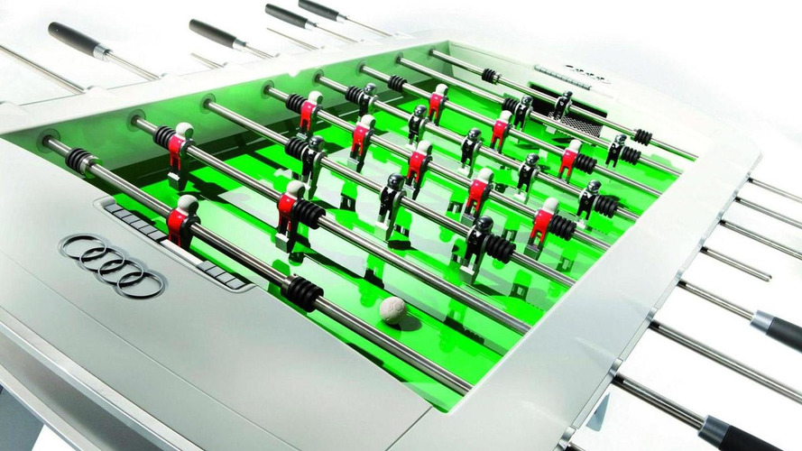 Audi designs $12,900 limited edition Foosball table